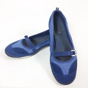 Sperry Top Sider Womens Slip On Mary Jane Blue